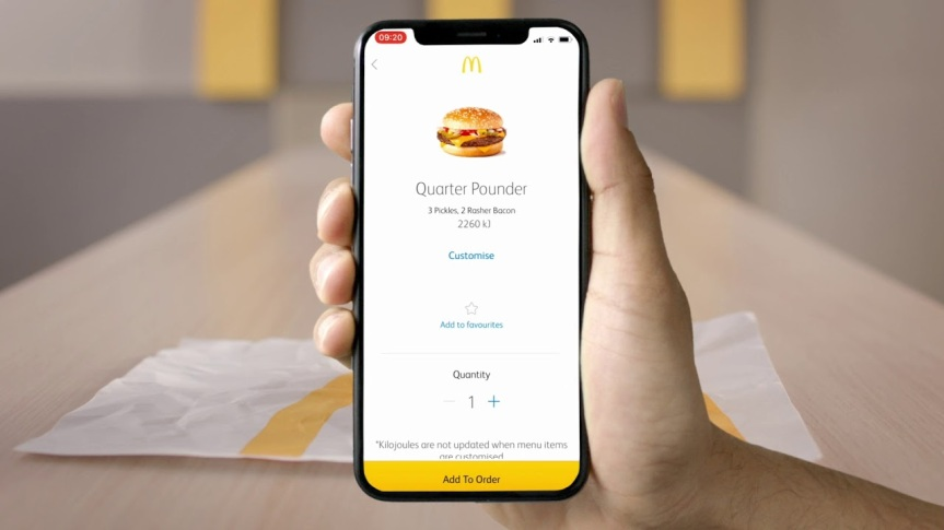 Why you Should Order Your Fast Food Their App