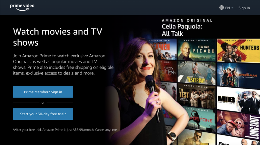 How to get Amazon Prime Video for just $3.99 per month