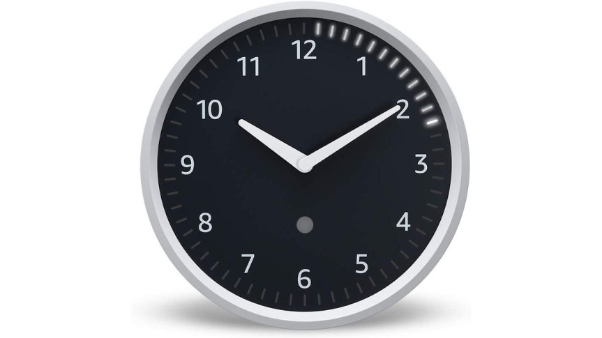 The Echo Wall Clock for those completely obsessed with timers