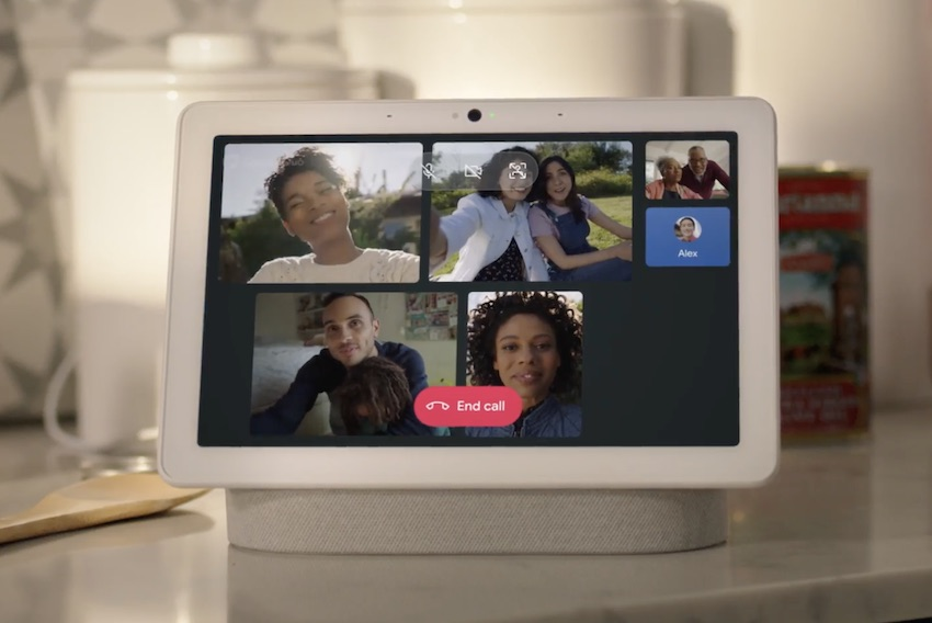Google adds Group Video Chat to Smart Displays