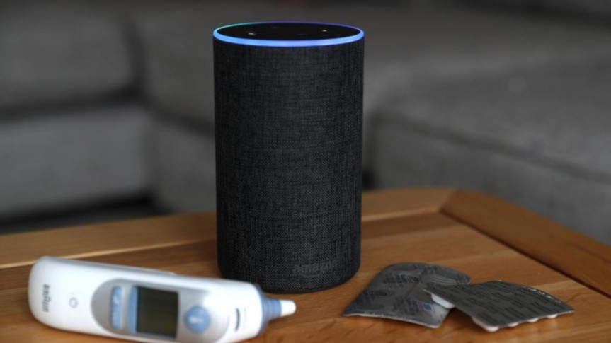 Can voice assistants be used in healthcare?